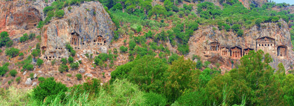 Photograph - Lycian Rock Tombs by Sun Travels
