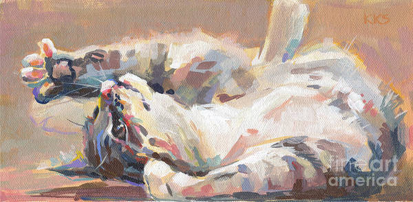 Wall Art - Painting - Lying In Wait by Kimberly Santini