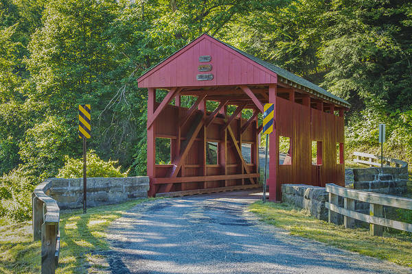 Photograph - Lyle Covered Bridge by Jack R Perry