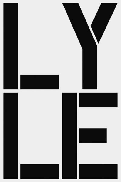 Lyle Painting - Lyle by Three Dots