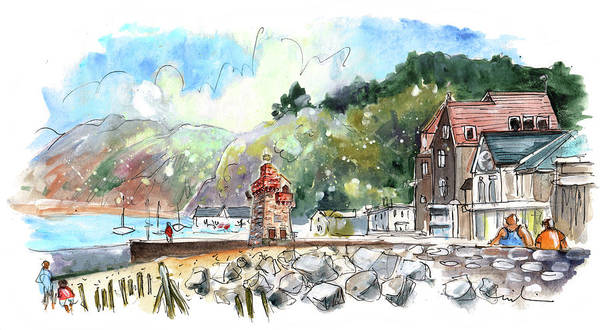Painting - Lynmouth 02 by Miki De Goodaboom