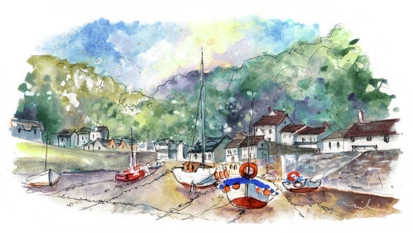 Painting - Lynmouth 03 by Miki De Goodaboom
