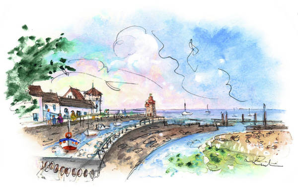 Painting - Lynmouth 04 by Miki De Goodaboom