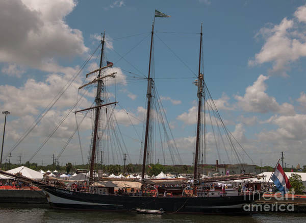 Photograph - Oosterschelde Tall Ship by Dale Powell