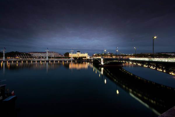 Photograph - Lyon By Night by John Magyar Photography