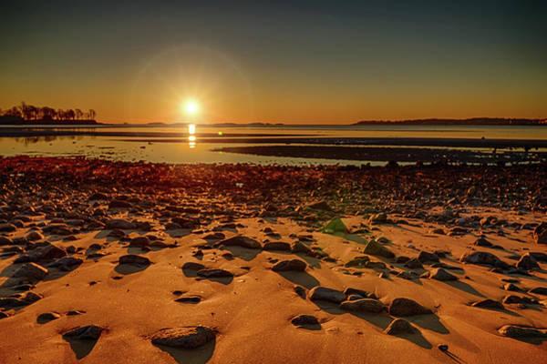 Photograph - Lyons Park Sunrise by Jeff Folger
