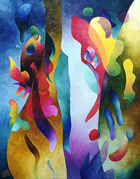 Painting - Lyrical Grouping by Sally Trace