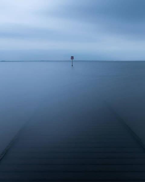 Long Exposure Photograph - Lytham Jetty  by Mark Mc neill