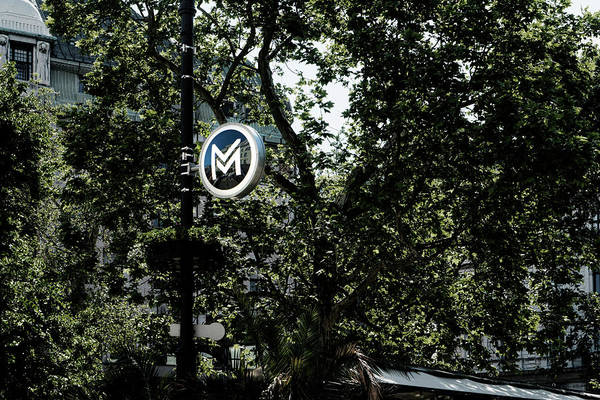 Photograph - M Is For Metro by Sharon Popek
