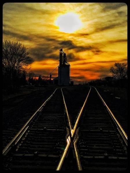 Photograph - M Track by David Matthews