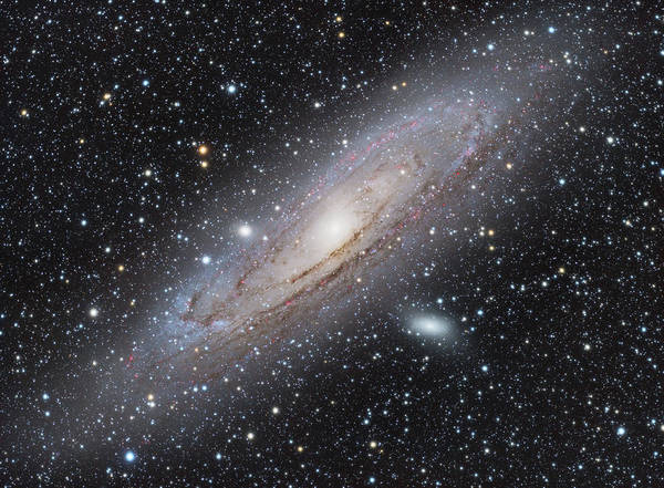 Photograph - M31 - Andromeda Galaxy by Dennis Sprinkle