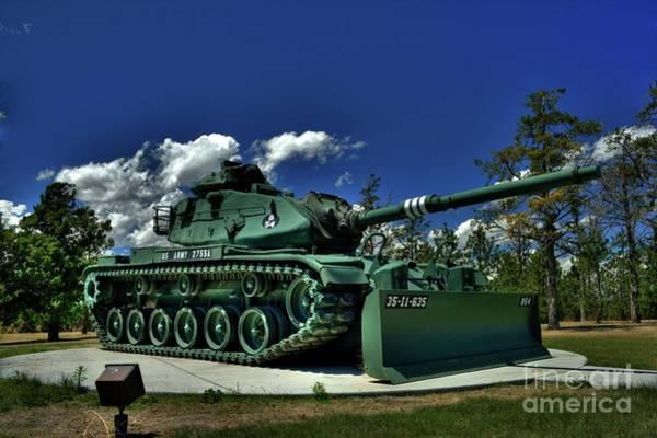 Photograph - M60 Tank by Tony Baca