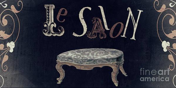 Utility Painting - Ma Maison I La Salon by Mindy Sommers