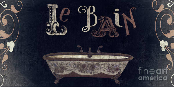Utility Painting - Ma Maison II Le Bain by Mindy Sommers