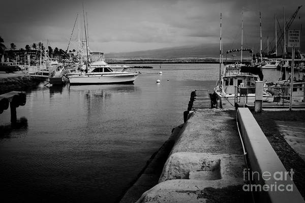 Photograph - Maalaea Harbour Maui Hawaii by Sharon Mau