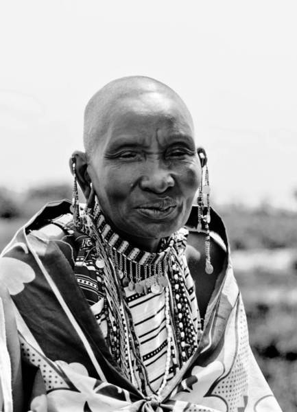 Mama Africa Wall Art - Photograph - Maasai Mama by Jimmy Jordan