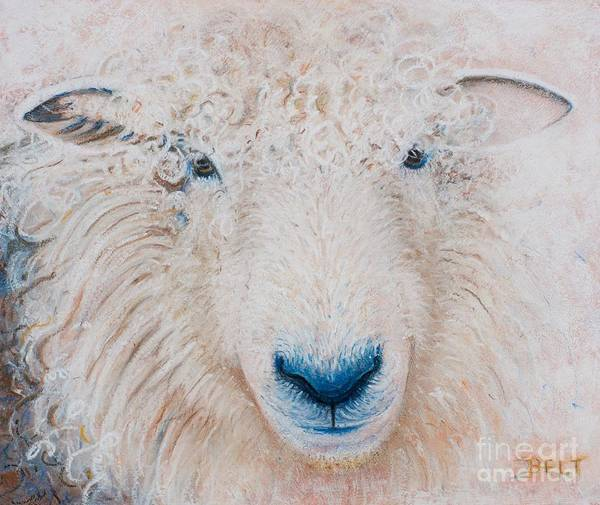 Wall Art - Pastel - Molly by Christine Belt