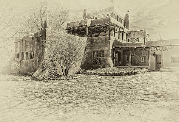 Digital Art - Mabel's House As Antique Print by Charles Muhle