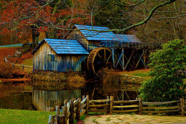 Photograph - Mabry Mill II by Mark Currier