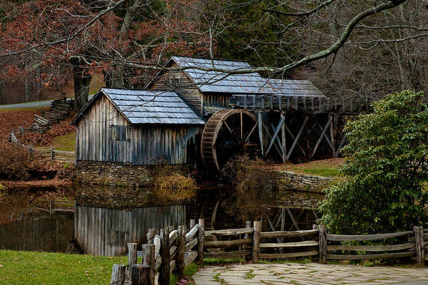 Photograph - Mabry Mill IIi by Mark Currier