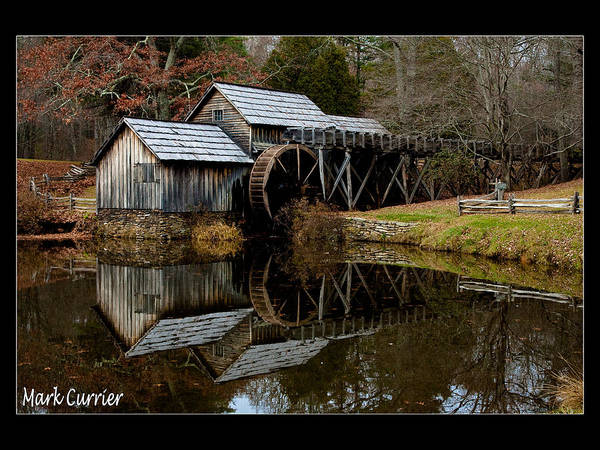 Photograph - Mabry Mill Iv by Mark Currier