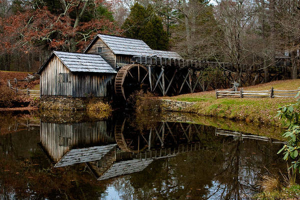 Photograph - Mabry Mill by Mark Currier
