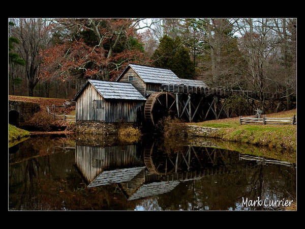 Photograph - Mabry Mill V by Mark Currier