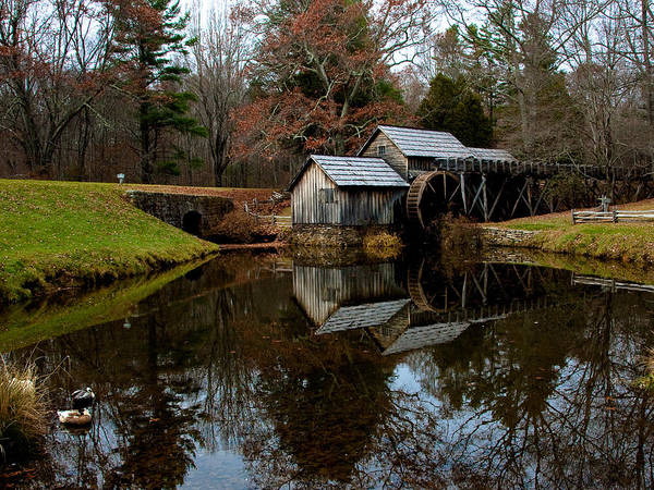 Photograph - Mabry Mill Vi by Mark Currier