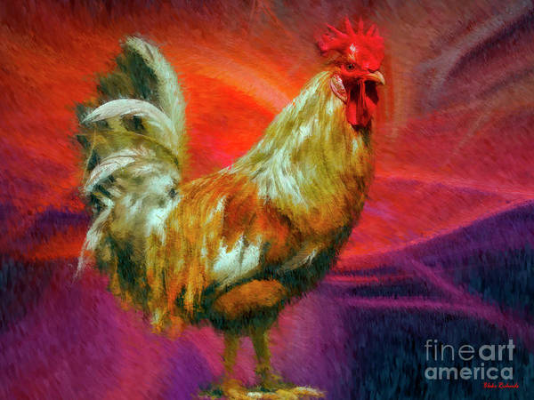 Photograph - Mac And Cheese The Rooster by Blake Richards