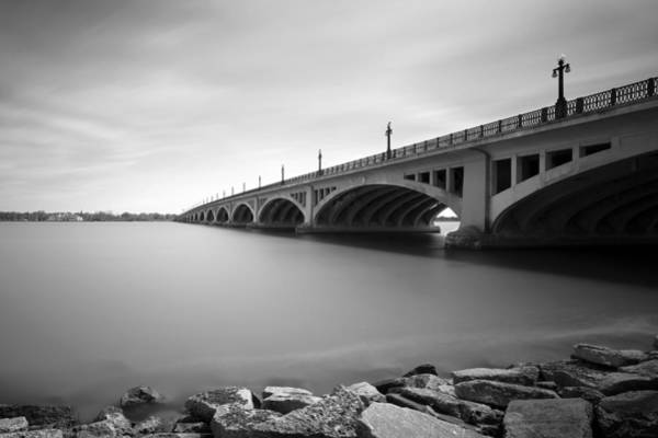 Lee Filters Wall Art - Photograph - Macarthur Bridge To Belle Isle Detroit Michigan by Gordon Dean II