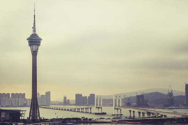 Wall Art - Photograph - Macau Tower by Hyuntae Kim