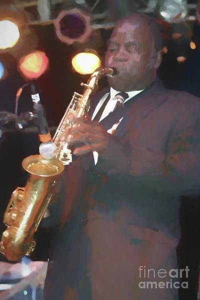 Jazz-funk Painting - Maceo Parker Painting by Concert Photos