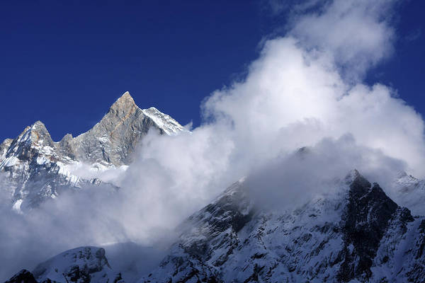 Photograph - Machhapuchchhre, Himalayas, Nepal by Aidan Moran