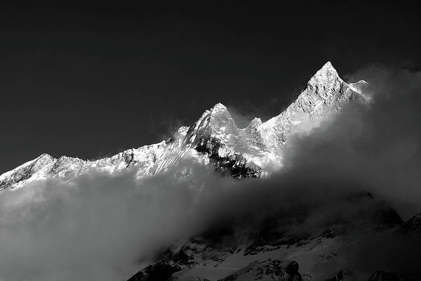 Photograph - Machhapuchhre by Aidan Moran
