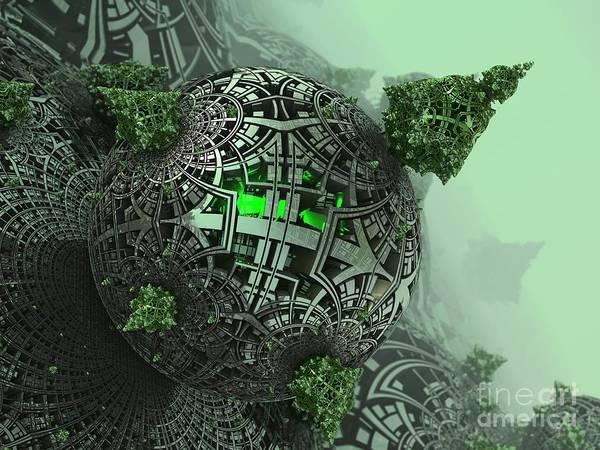 Digital Art - Machine Life by Jon Munson II
