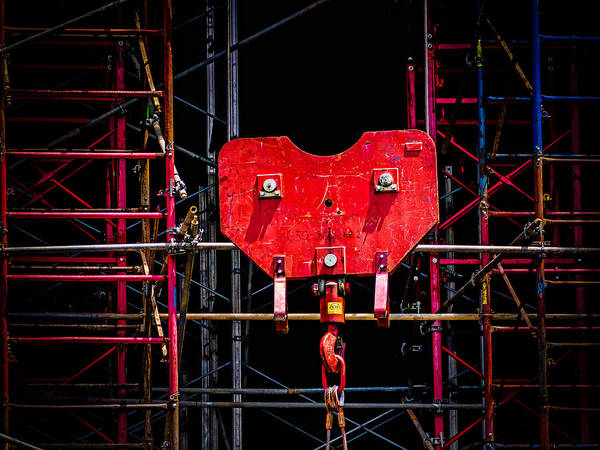 Photograph - Machine Man by Robin Zygelman