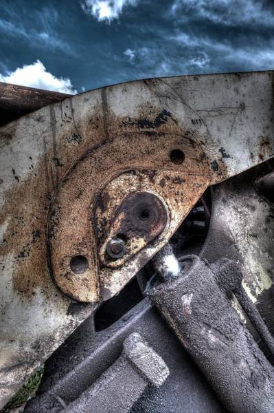 Photograph - Machine Rust Hydraulic Ram by John Williams