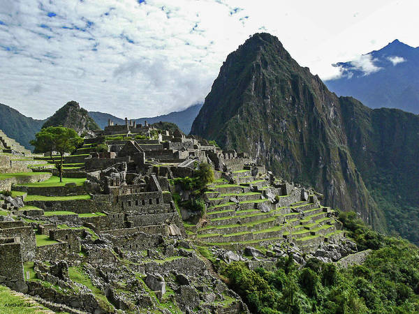 Photograph - Machu Picchu by Allen Sheffield