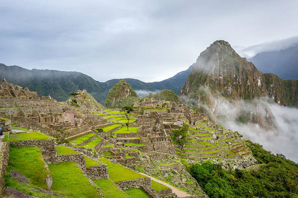 Photograph - Machu Picchu. by Gary Gillette