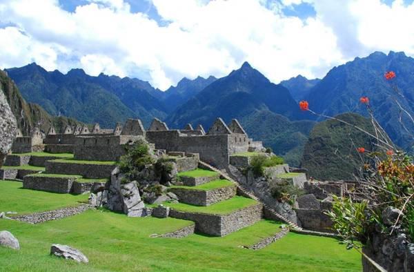Photograph - Machu Picchu Landscape by Cascade Colors