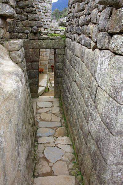 Photograph - Machu Picchu Street, Peru by Aidan Moran