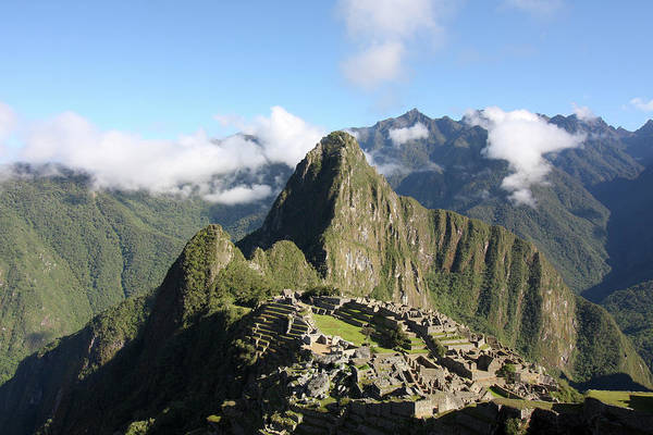 Photograph - Machu Picchu, The Lost City Of The Inca by Aidan Moran