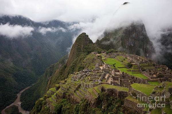 Photograph - Machu Picchu by Timothy Johnson