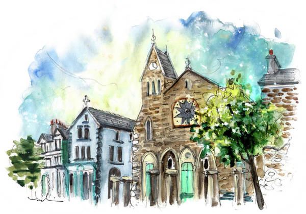 Painting - Machynlleth 04 by Miki De Goodaboom