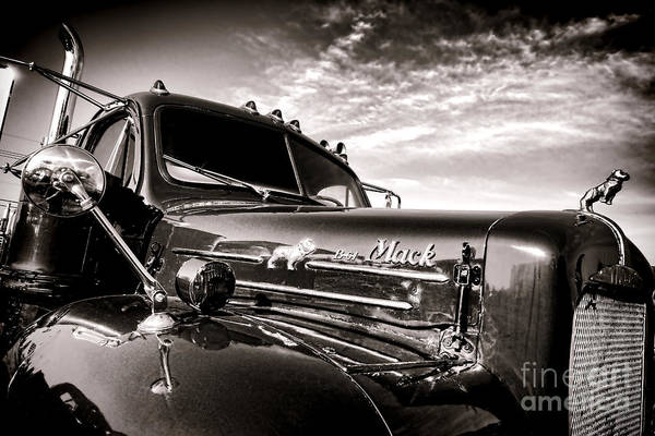B61 Wall Art - Photograph - Mack B61 Ghost by Olivier Le Queinec