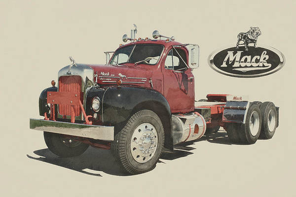 B61 Wall Art - Digital Art - Mack B61 by Paolo Grasso