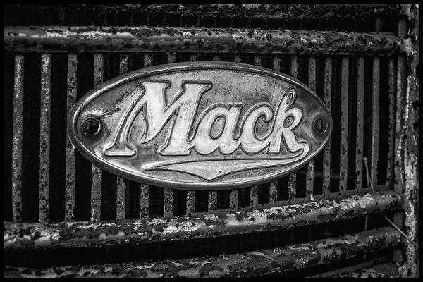 Photograph - Mack Truck Emblem by Matthew Pace