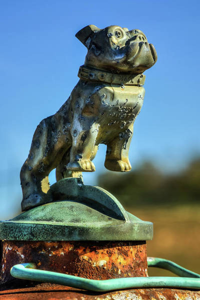 Photograph - Mack Truck Hood Ornament by Jerry Gammon