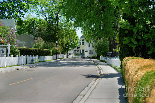 Photograph - Mackinac Island Street by Ed Taylor