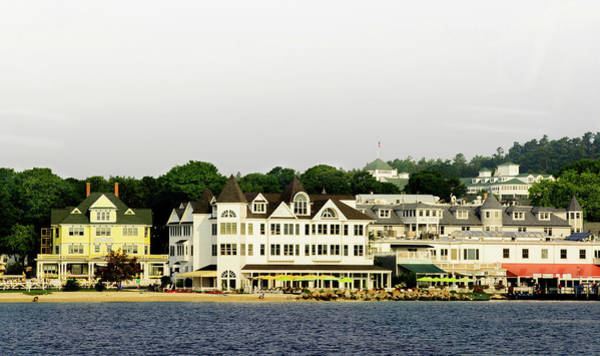 Photograph - Mackinac Island View From The Boat by Randy J Heath